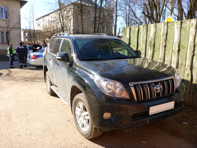 Угон - возврат Toyota Land Cruiser Prado